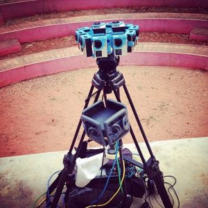 360 GoPros Rig + Omnibinaural 3dio Microphone with DPA capsules